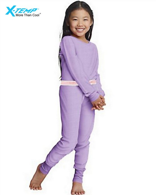 Hanes 25454 Girls X-Temp Thermal Set