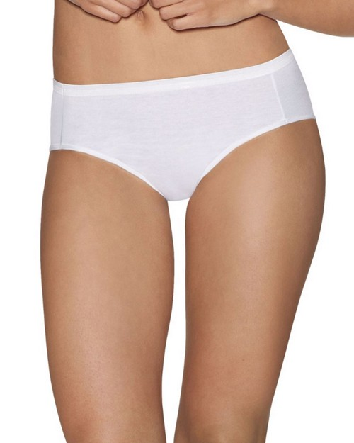 Hanes 41HUCC Ultimate Comfort Cotton Womens Hipster Panties 5-Pack