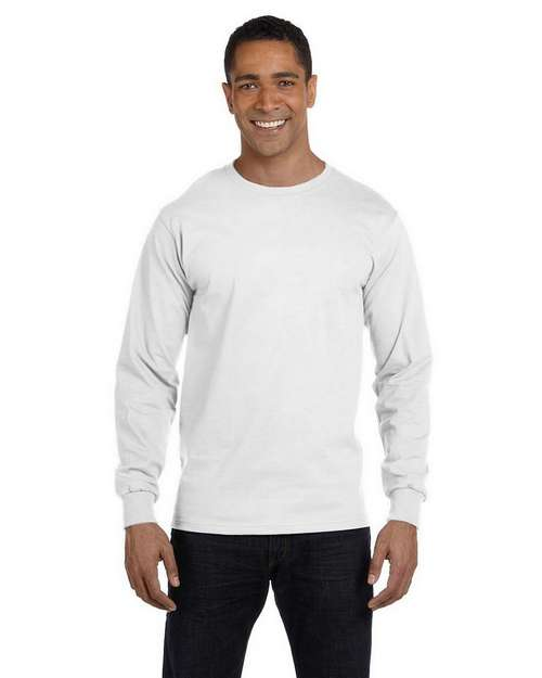 Hanes 5286 100% ComfortSoft Cotton Long Sleeve T Shirt