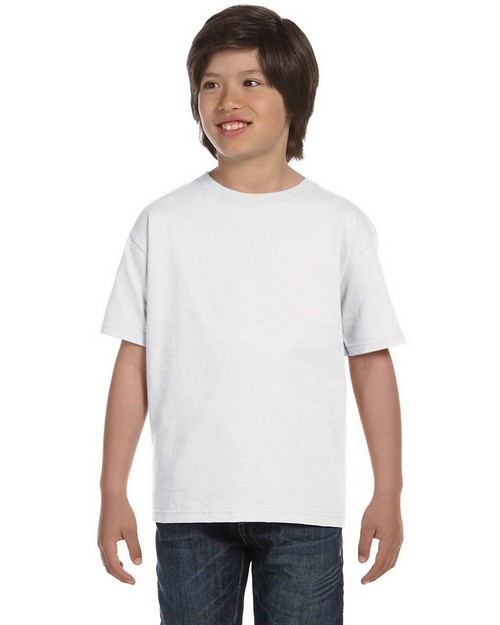 Hanes 5380 Youth Ringspun Cotton Beefy T-Shirt