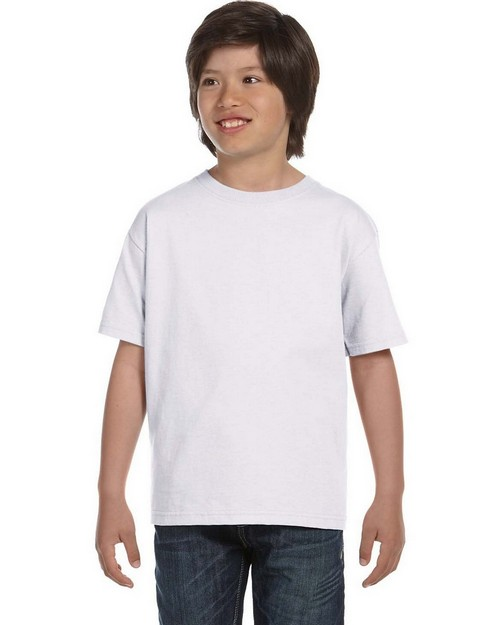 Hanes 5480 Youth ComfortSoft Cotton T-Shirt