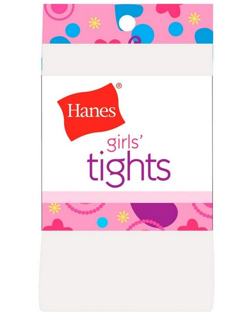 Hanes 71021 Girls Opaque Tights 1 Pair