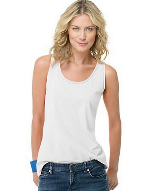 Hanes 9002 Live.Love.Color Scoop Neck Tank