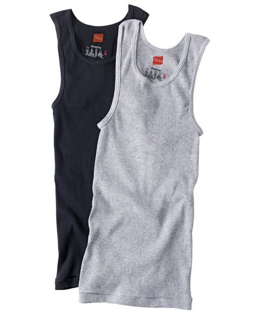 Hanes B392P3 Boys Dyed Tanks (Pack of 3)