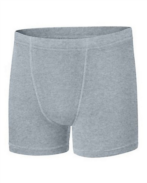 Hanes BU756B Boys Ultimate Dyed Boxer Brief with ComfortSoft Waistband Assorted Black & Grey 4-Pack