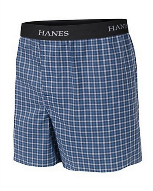 Hanes BU835C Boys Ultimate Yarn Dye Boxer with Comfort Flex Waistband 3-Pack