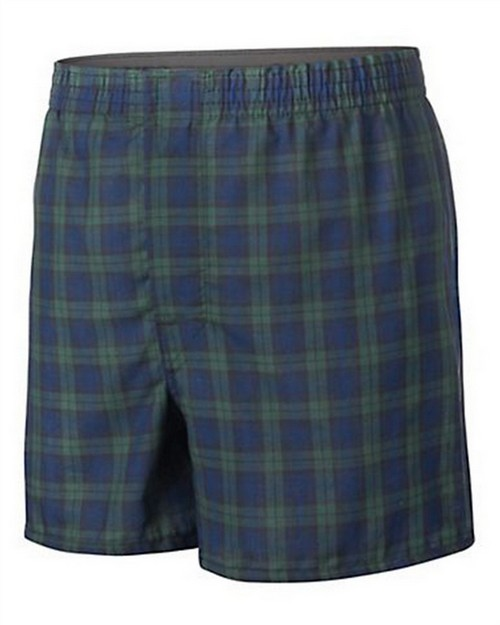Hanes BU845C Boys Ultimate Tartan Boxer with Comfort Flex Waistband 3-Pack