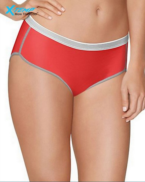 Hanes CA41AS Womens Sport Comfort X-Temp Hipster Panties with Comfort Flex Waistband 3-Pack