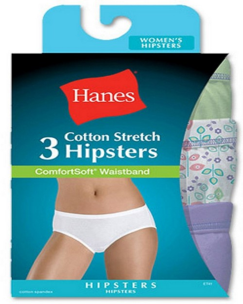 Hanes ET41AS Comfort Soft Stretch Hipster