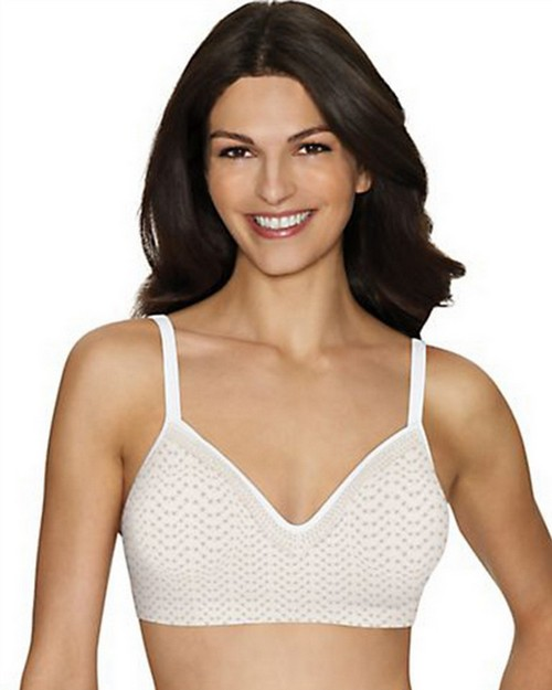 Hanes G199 Comfort Evolution Lace ComfortFlex Fit Wirefree Bra