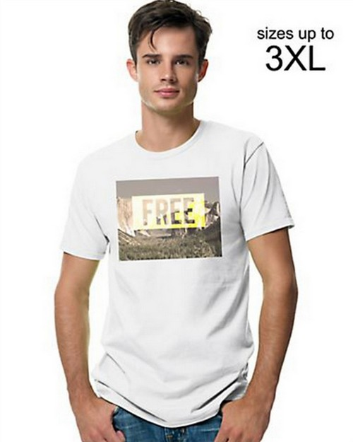 Hanes GT49B Mens Your Way Graphic Tee