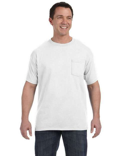 Hanes H5590 Tagless Pocket T-Shirt