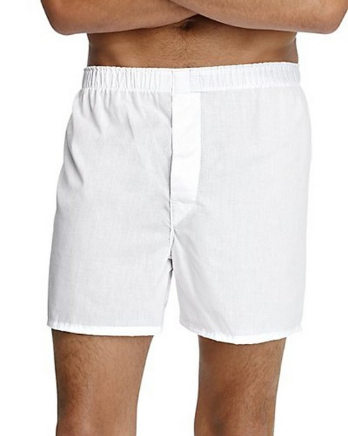 Hanes HN110W4 Mens Tagless Full Cut Boxer with Comfort Flex Waistband (Pack Of 4)