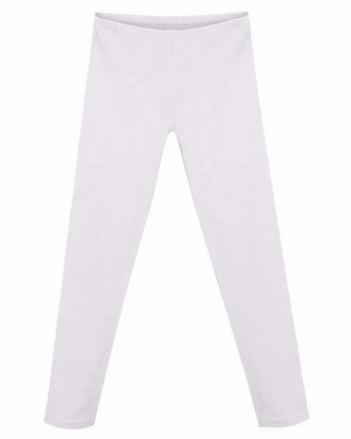 Hanes K411 Girls Cotton Stretch Leggings