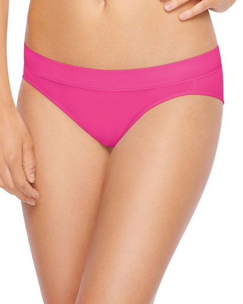 Hanes MI42AS X-Temp Constant Comfort Womens Microfiber Bikini Panties 4-Pack