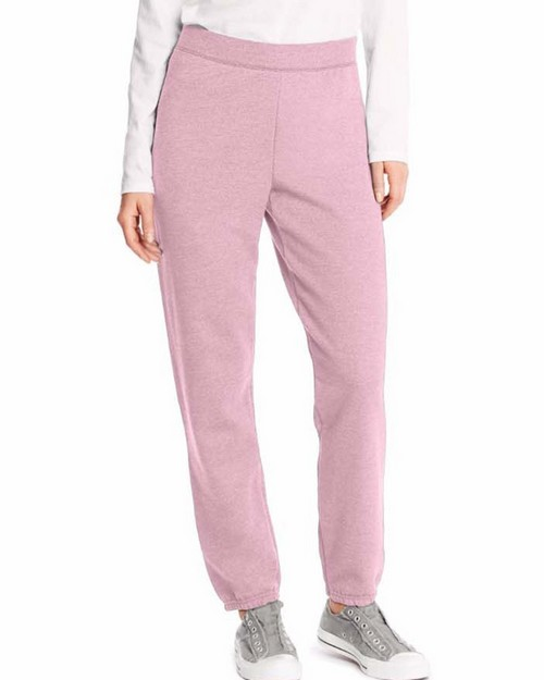 Hanes O4630 Comfortsoft Ecosmart Womens Cinch Leg Sweatpants