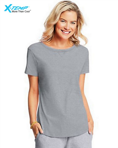Hanes O9268 X-Temp Womens V-Notch Tee