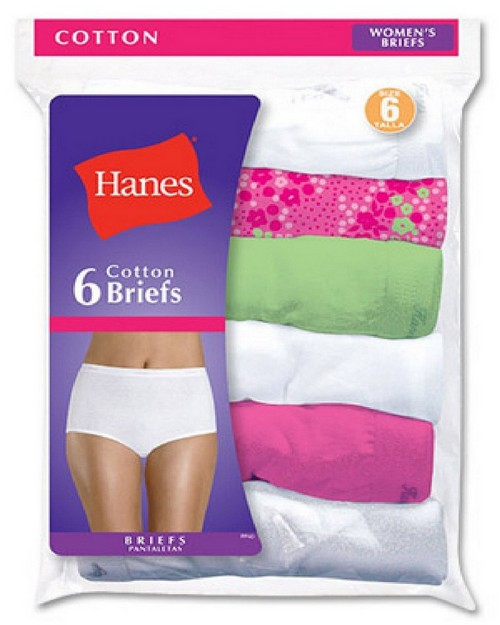 Hanes PP40AD Cotton Briefs Pastel Assortment