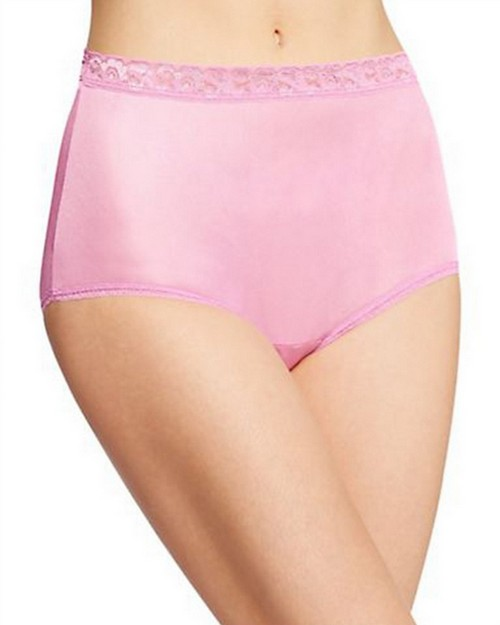 Hanes PP70AS Womens Nylon Brief Panties 6-Pack