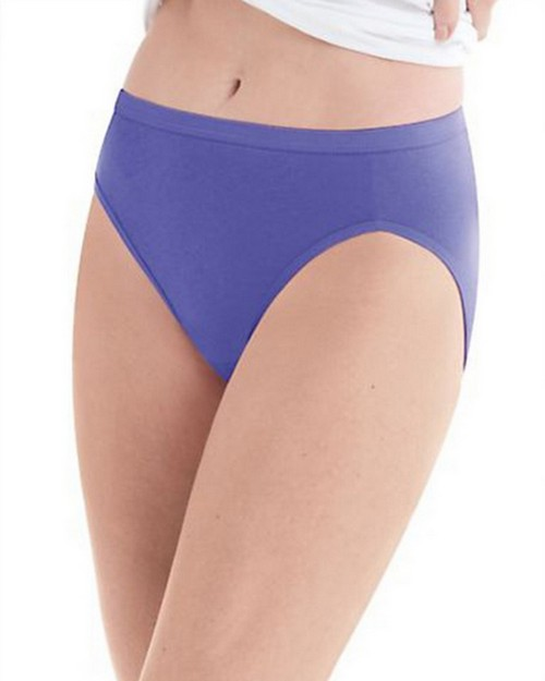 Hanes PW43AS Womens Hi-Cut Panty 10-Pack