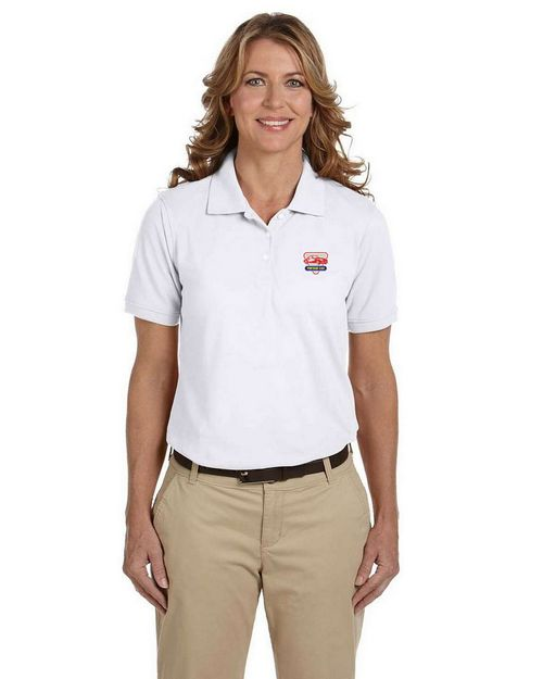 Harriton M265W Ladies Easy Blend Polo
