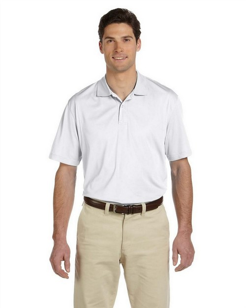 Harriton M354 Men's Micro Pique Polo