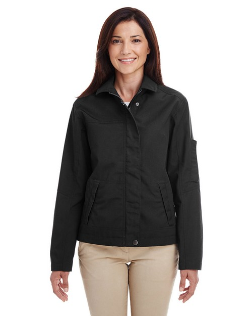 Harriton M705W Ladies Auxiliary Canvas Work Jacket