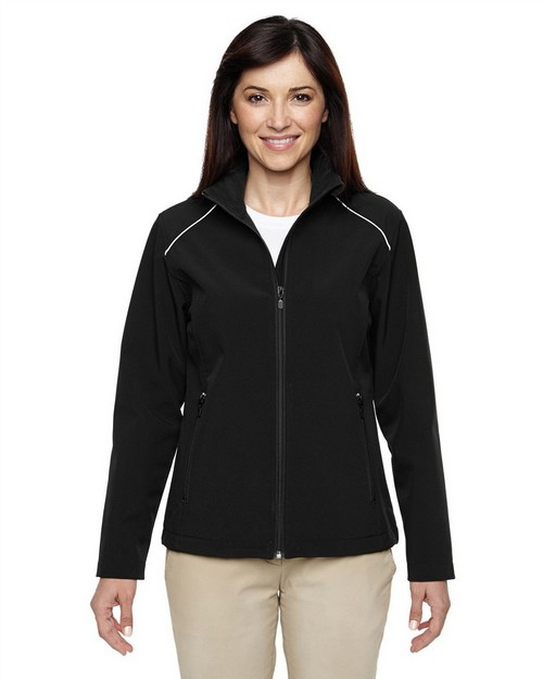 Harriton M780W Ladies Echo Soft Shell Jacket