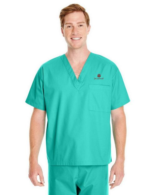 Harriton M897 Adult Restore  Scrub Top
