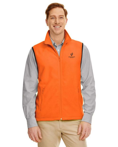 Harriton M985 Fleece Vest