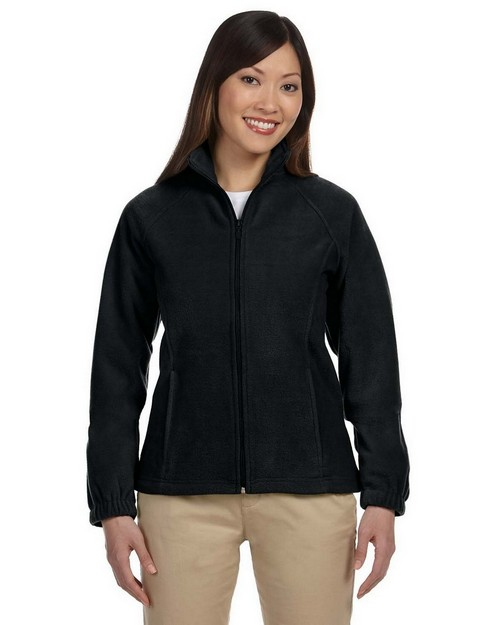 Harriton M990W Ladies Full-Zip Fleece
