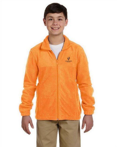 Harriton youth M990Y Full-Zip Fleece