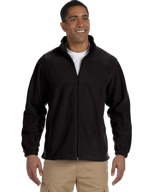 Harriton M990 Men's Full-Zip Fleece