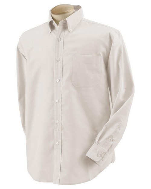 Harvard Square HS600 Mens Five Star Performance Long-Sleeve Oxford Shirt