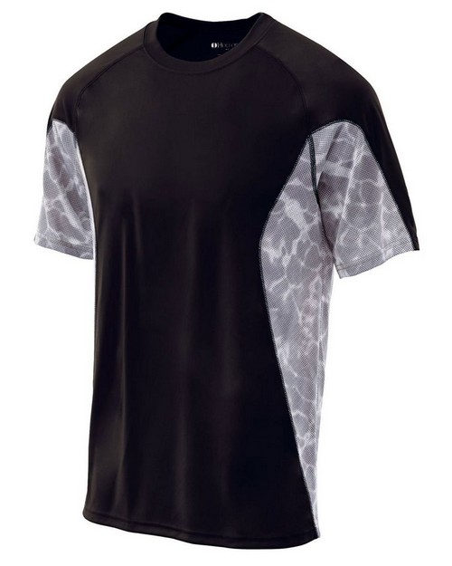 Holloway 222213 Youth Polyester Short Sleeve Training Tidal Shirt