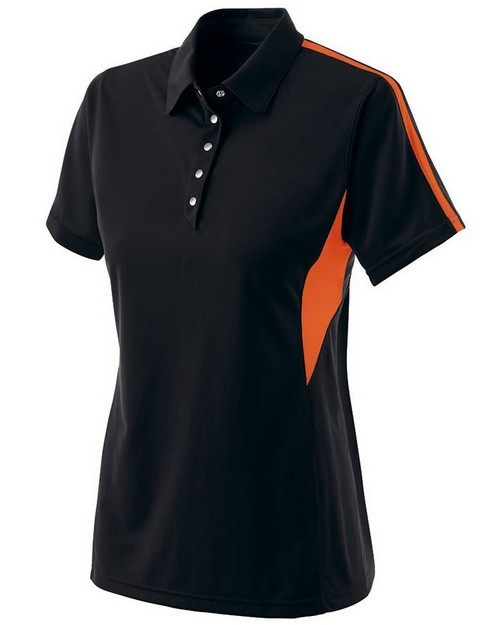 Holloway 222308 Ladies Polyester Snag Resistant Shark Bite Polo