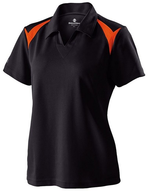 Holloway 222346 Ladies Polyester Pique Laser Polo