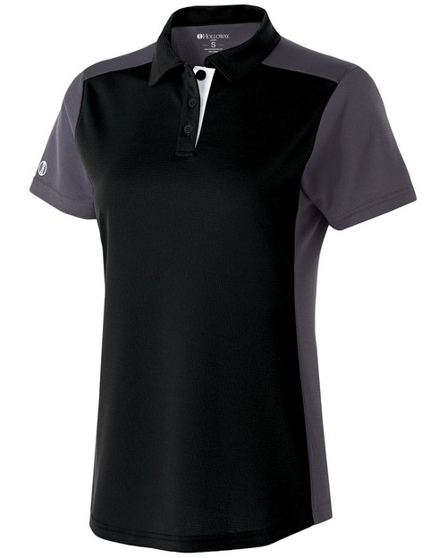 Holloway 222386 Ladies Polyester Closed-Hole Division Polo