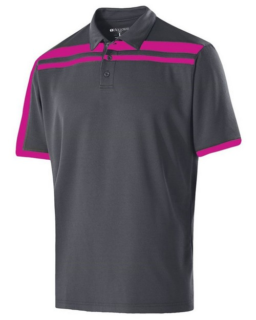 Holloway 222387 Ladies Polyester Closed-Hole Charge Polo