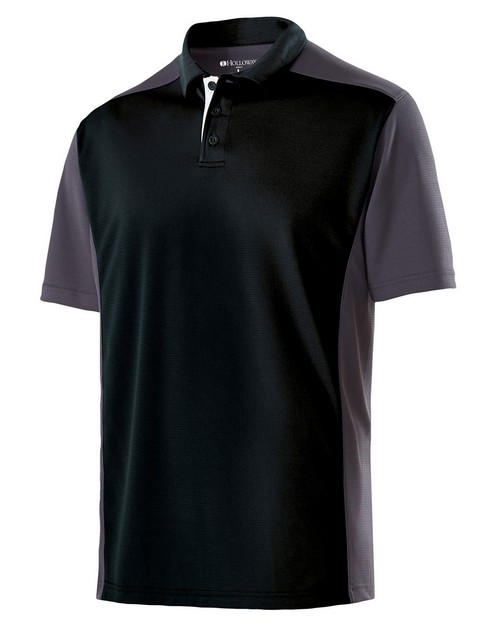 Holloway 222486 Adult Polyester Closed-Hole Division Polo