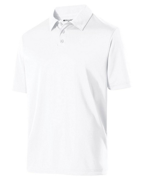 Holloway 222519 Adult Polyester Textured Stripe Shift Polo