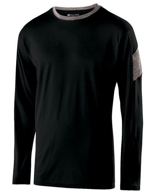 Holloway 222527 Adult Polyester Long Sleeve Electron Shirt