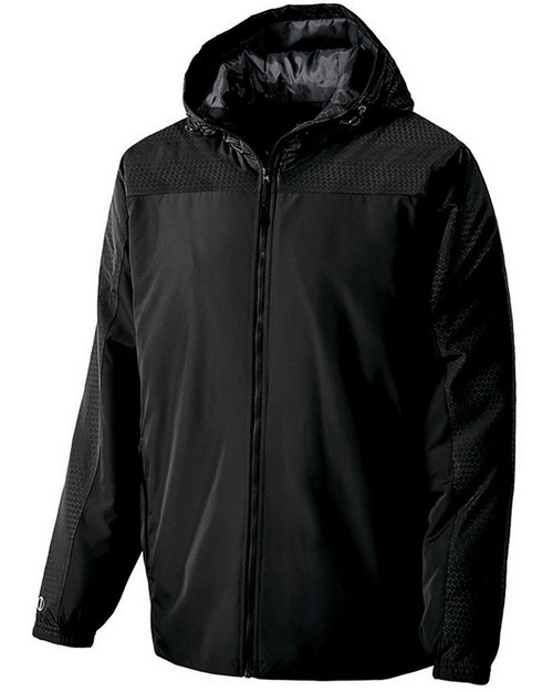 Holloway 229017 Adult Polyester Full Zip Bionic Hooded Jacket