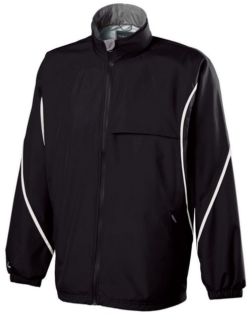 Holloway 229159 Adult Polyester Full Zip Hooded Circulate Jacket