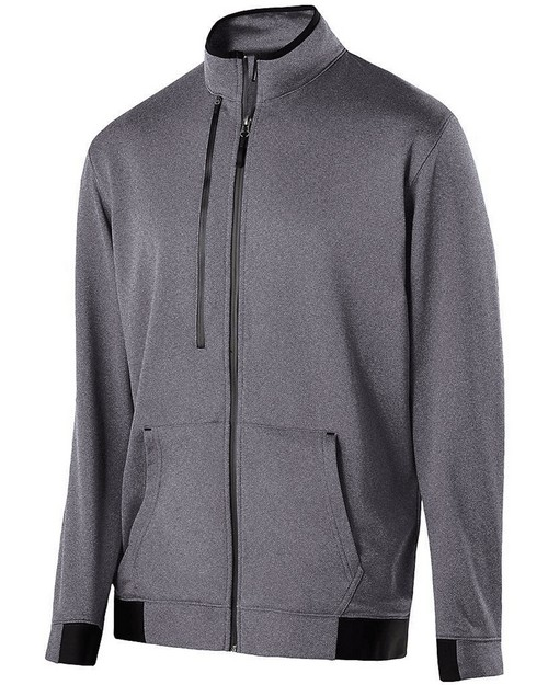 Holloway 229166 Adult Polyester Fleece Full Zip Artillery Jacket