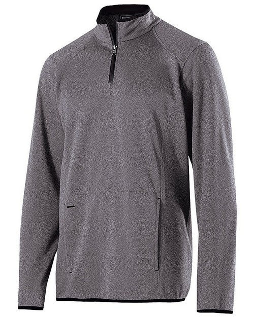 Holloway 229176 Adult Polyester Fleece 1/4 Zip Artillery Pullover