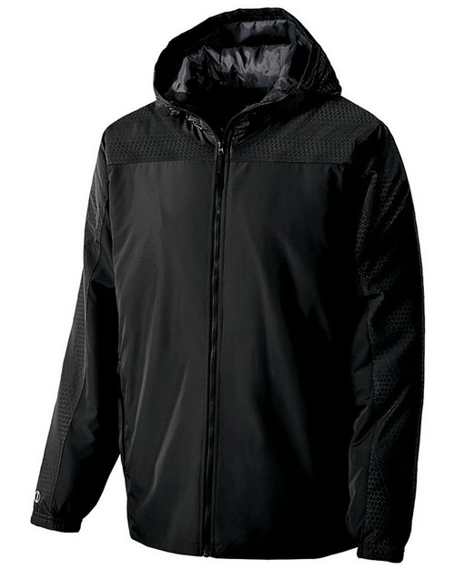 Holloway 229217 Youth Polyester Full Zip Bionic Hooded Jacket