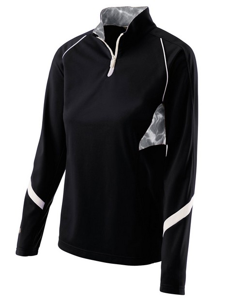 Holloway 229324 Ladies Polyester 1/4 Zip Tenacity Pullover