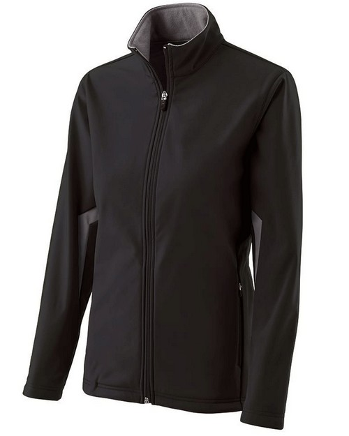Holloway 229329 Ladies Polyester Soft Shell Full Zip Revival Jacket