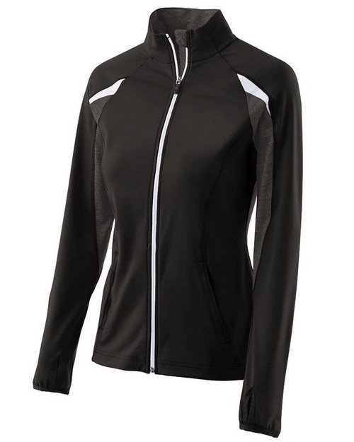 Holloway 229363 Ladies Polyester Full Zip Tumble Jacket